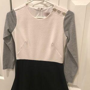 🌼2 FOR 10🌼 LOFT Block Color Skater Dress